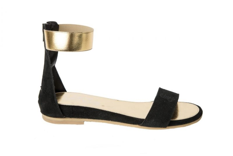 Oro – Sandalo Caviglia Elastico Donna Pe 2017 rdCxBoe